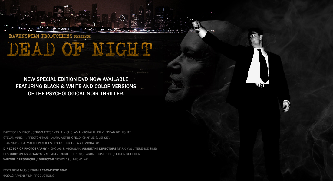 RavensFilm Productions presents DEAD OF NIGHT
